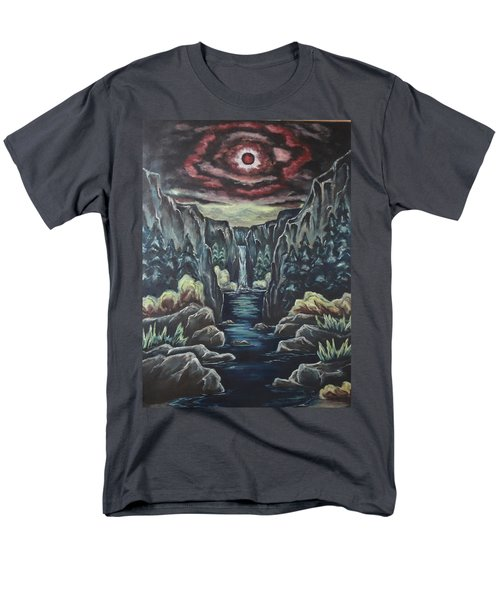 Blood Moon Men's T-Shirt  (Regular Fit) by Cheryl Pettigrew