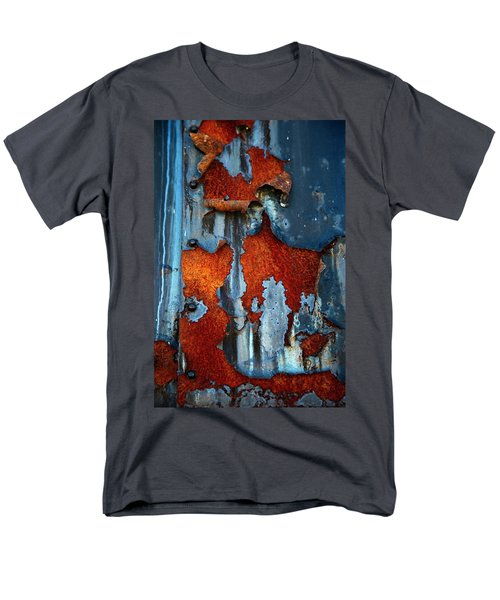 Men's T-Shirt  (Regular Fit) featuring the photograph Blue And Rust by Karol Livote