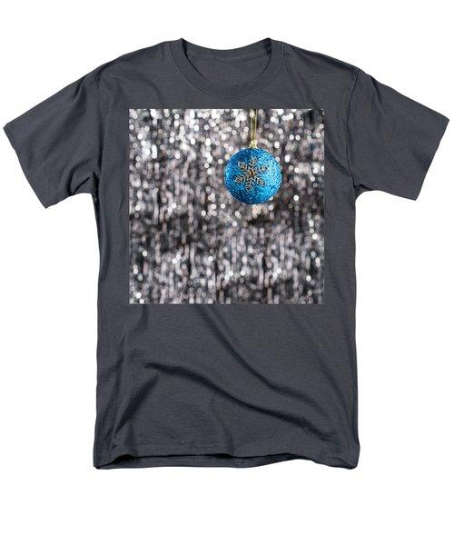 Men's T-Shirt  (Regular Fit) featuring the photograph Blue Christmas by Ulrich Schade