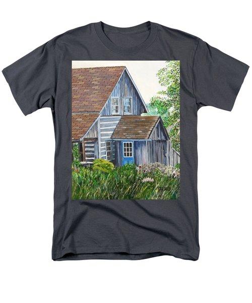 Blue Door Men's T-Shirt  (Regular Fit)