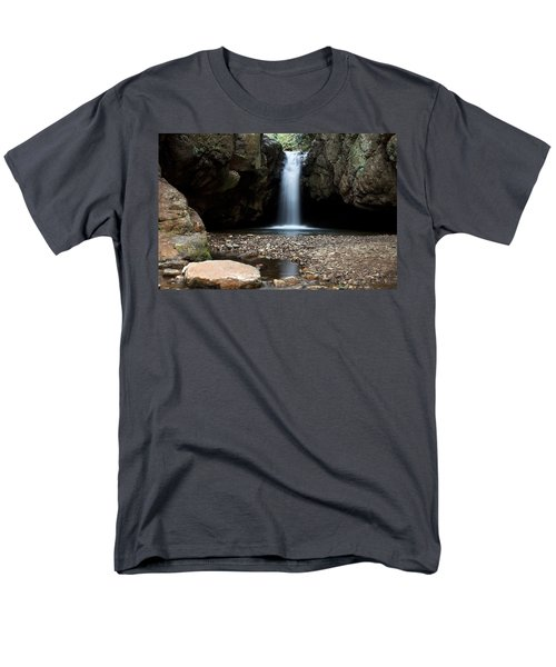 Men's T-Shirt  (Regular Fit) featuring the photograph Blue Hole In Spring #2 by Jeff Severson