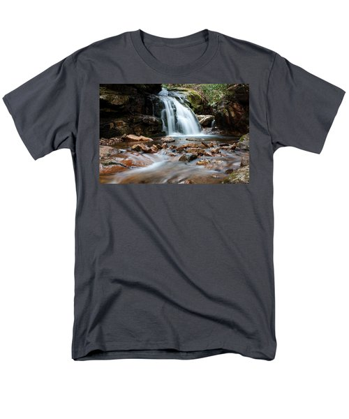 Men's T-Shirt  (Regular Fit) featuring the photograph Blue Hole In Spring #3 by Jeff Severson