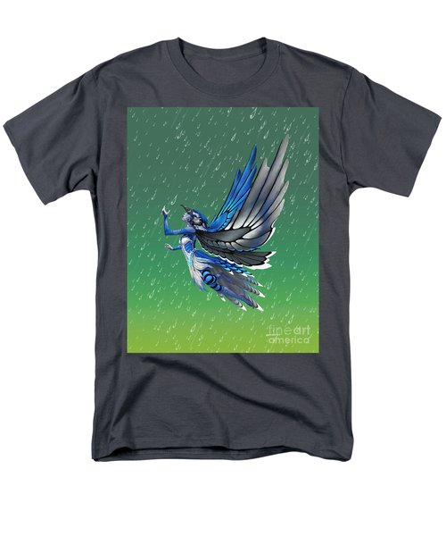 Blue Jay Fairy Men's T-Shirt  (Regular Fit) by Stanley Morrison