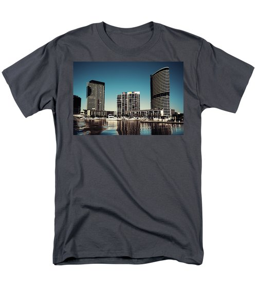 Blue Melbourne Men's T-Shirt  (Regular Fit) by Joseph Westrupp