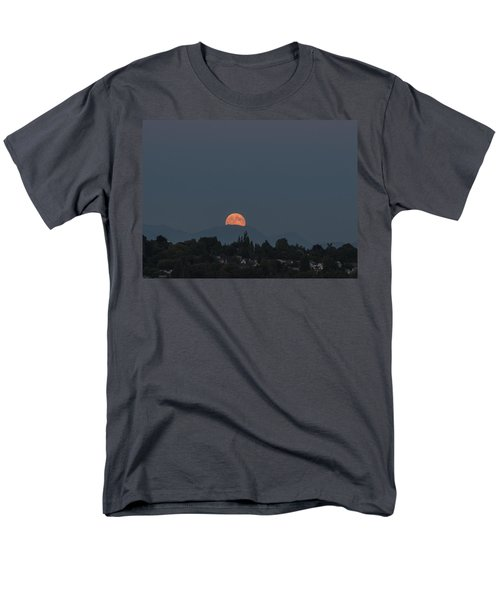 Blue Moon.1 Men's T-Shirt  (Regular Fit) by E Faithe Lester