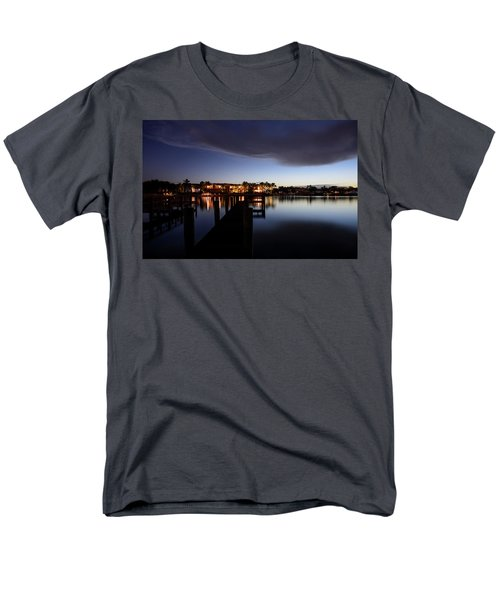 Men's T-Shirt  (Regular Fit) featuring the photograph Blue Night by Laura Fasulo