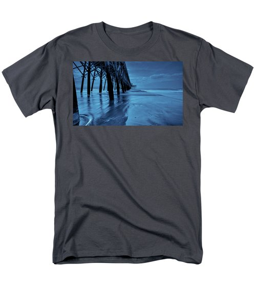 Men's T-Shirt  (Regular Fit) featuring the photograph Blue Pier by RC Pics
