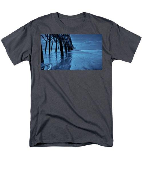 Blue Pier Men's T-Shirt  (Regular Fit) by RC Pics