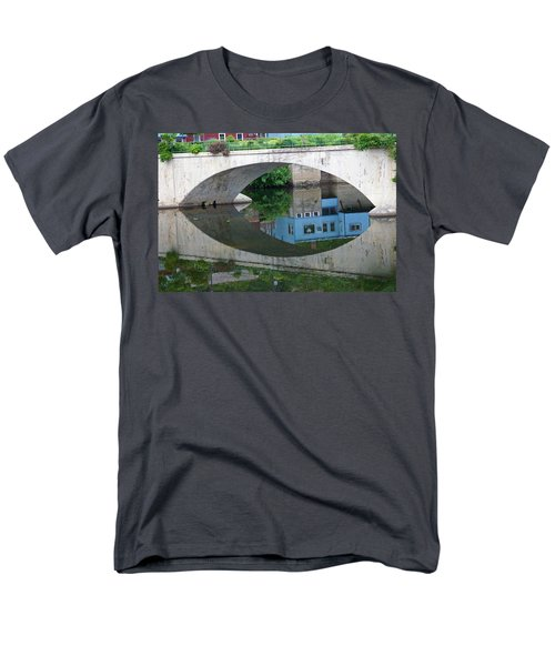 Blue Reflection Men's T-Shirt  (Regular Fit) by Jim Gillen