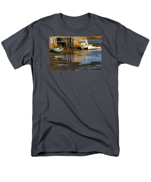 Blue Rocks, Nova Scotia Men's T-Shirt  (Regular Fit) by Ken Morris