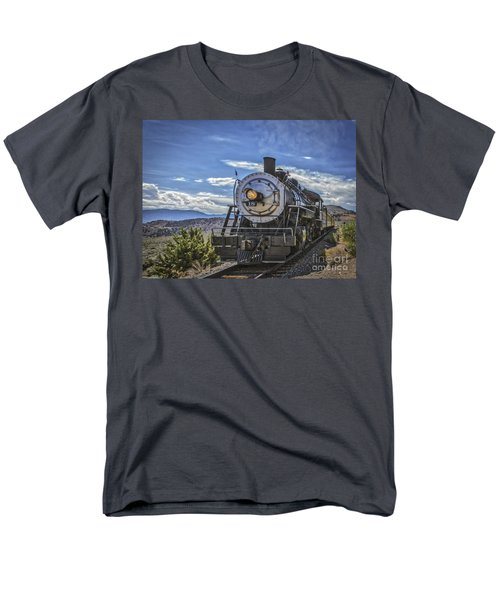 Blue Sky Nevada. Men's T-Shirt  (Regular Fit) by Mitch Shindelbower