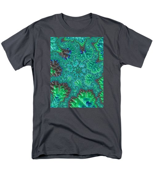 Men's T-Shirt  (Regular Fit) featuring the photograph Blue Starfish by Ronda Broatch