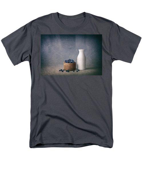 Blueberries And Cream Men's T-Shirt  (Regular Fit) by Tom Mc Nemar