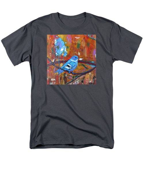 Bluebird In Autumn Men's T-Shirt  (Regular Fit)