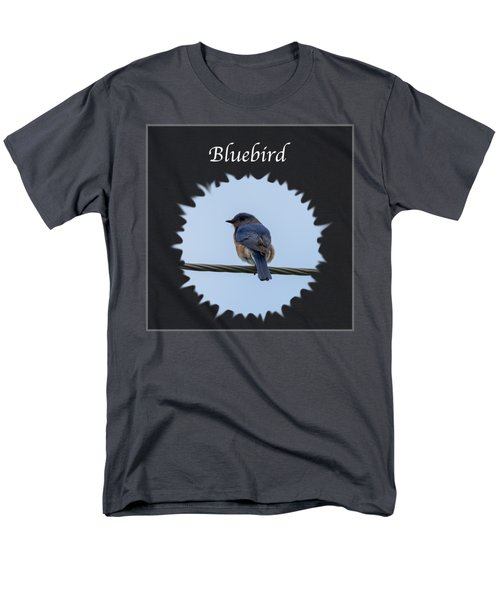 Bluebird Men's T-Shirt  (Regular Fit) by Jan M Holden