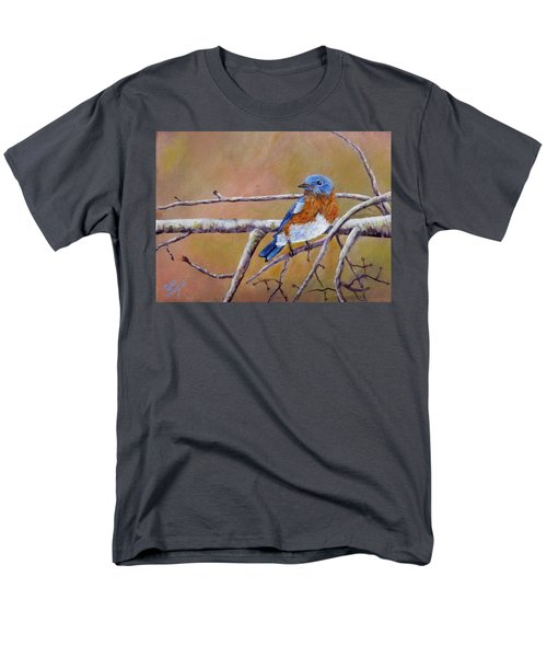 Men's T-Shirt  (Regular Fit) featuring the painting Bluey by Dan Wagner