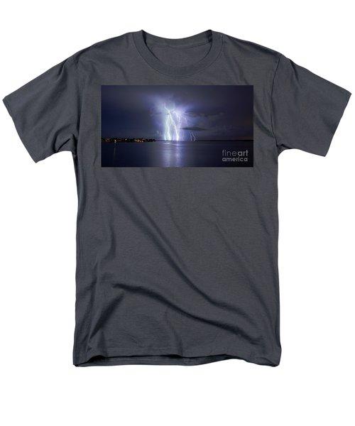 Bokeelia Nights Men's T-Shirt  (Regular Fit) by Quinn Sedam