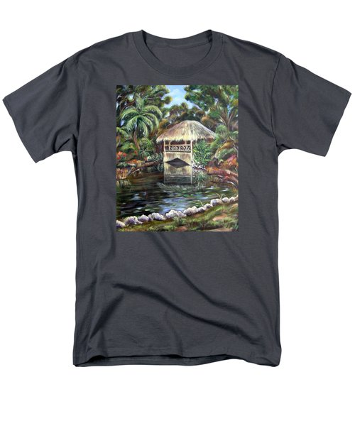 Bonnet House Chickee Men's T-Shirt  (Regular Fit) by Patricia Piffath