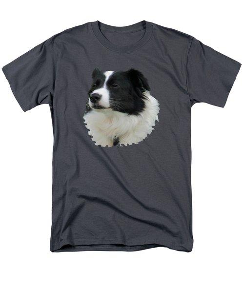 Border Collie Men's T-Shirt  (Regular Fit) by Pamela Walton