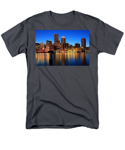 Boston Aglow Men's T-Shirt  (Regular Fit)