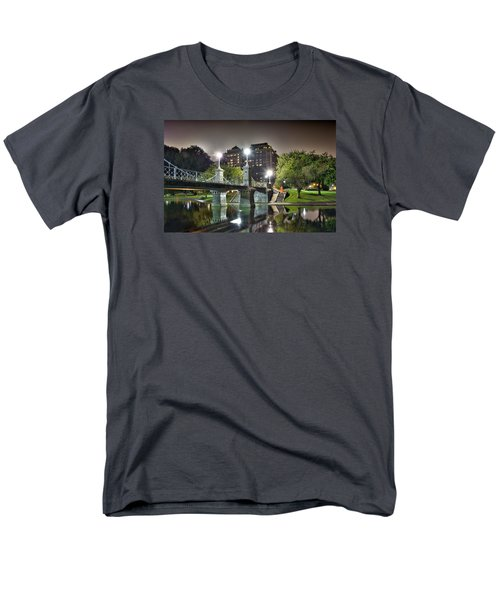 Boston Public Garden Men's T-Shirt  (Regular Fit) by Brendan Reals