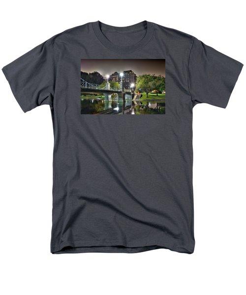 Boston Public Garden Men's T-Shirt  (Regular Fit)