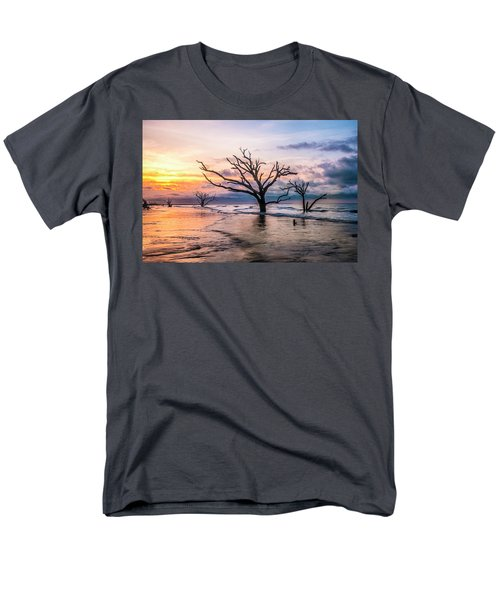 Botany Bay Dawn Men's T-Shirt  (Regular Fit) by Phyllis Peterson