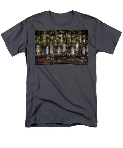 Bottles Hanging On The Wall  Men's T-Shirt  (Regular Fit) by Nathan Wright