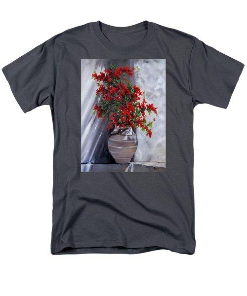 Bougainvillia Men's T-Shirt  (Regular Fit) by Katia Aho