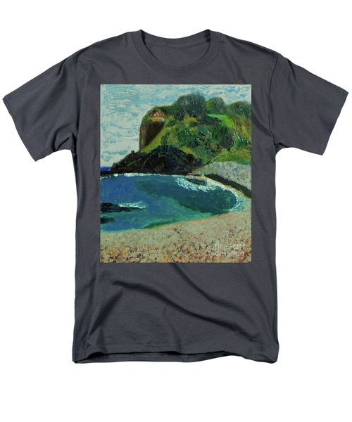 Boulder Beach Men's T-Shirt  (Regular Fit) by Paul McKey