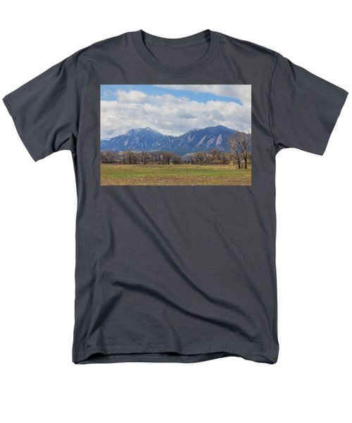 Men's T-Shirt  (Regular Fit) featuring the photograph Boulder Colorado Prairie Dog View  by James BO Insogna