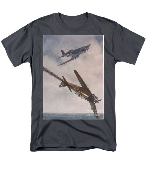 Men's T-Shirt  (Regular Fit) featuring the painting Boyington Christmas by Paul Clinkunbroomer
