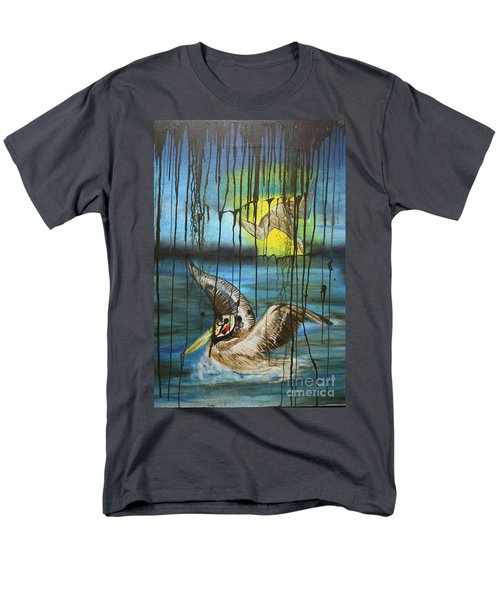 Bp Or You Men's T-Shirt  (Regular Fit) by Tbone Oliver