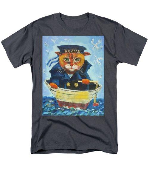 Brave Men's T-Shirt  (Regular Fit) by Maxim Komissarchik