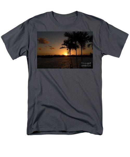 Men's T-Shirt  (Regular Fit) featuring the photograph Breaking Dawn by Pamela Blizzard