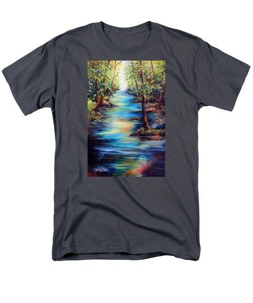 Breaking Through Men's T-Shirt  (Regular Fit)