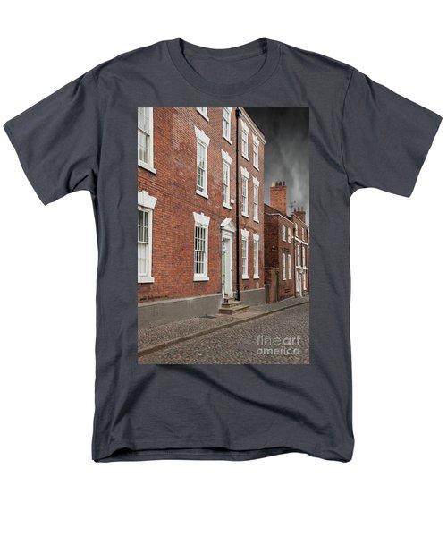 Men's T-Shirt  (Regular Fit) featuring the photograph Brick Buildings by Juli Scalzi