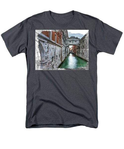 Men's T-Shirt  (Regular Fit) featuring the photograph Bridge Of Sighs by Tom Cameron