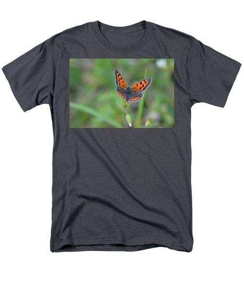 Bright Copper Men's T-Shirt  (Regular Fit) by Janet Rockburn