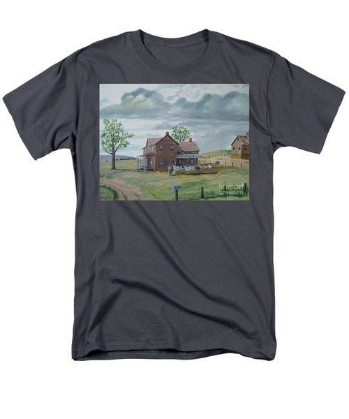 Bringing In The Clothes Men's T-Shirt  (Regular Fit) by Norm Starks