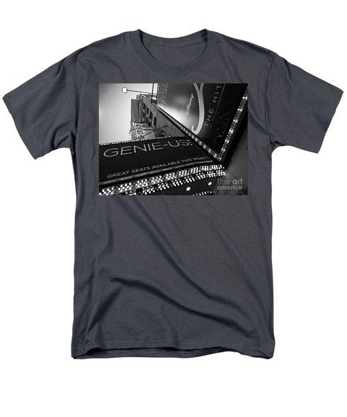 Men's T-Shirt  (Regular Fit) featuring the photograph Broadway  -27868-bw by John Bald