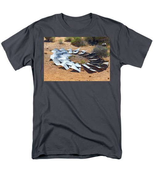 Broken Wheel Of Fortune Men's T-Shirt  (Regular Fit) by Viktor Savchenko