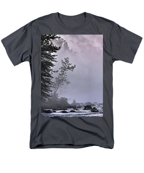 Men's T-Shirt  (Regular Fit) featuring the photograph Brooding River by Tom Cameron
