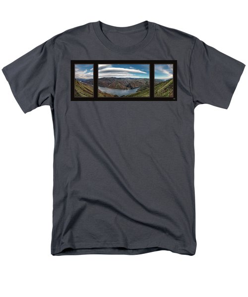 Men's T-Shirt  (Regular Fit) featuring the photograph Brownlee Triptych by Leland D Howard