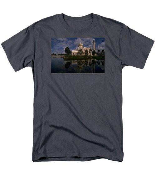 Brunei Mosque Men's T-Shirt  (Regular Fit)