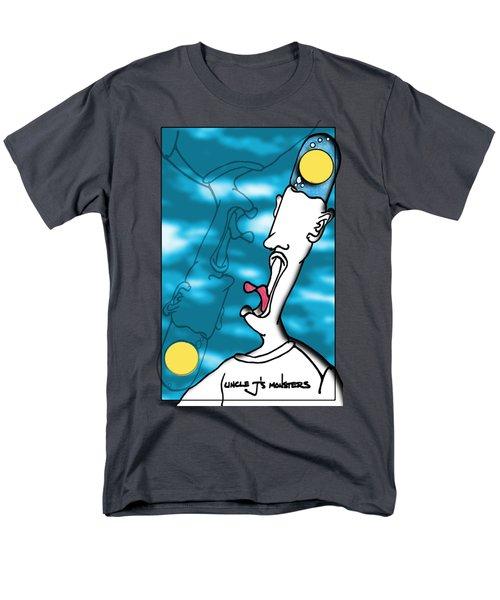 Bubble Brain  Men's T-Shirt  (Regular Fit) by Uncle J's Monsters