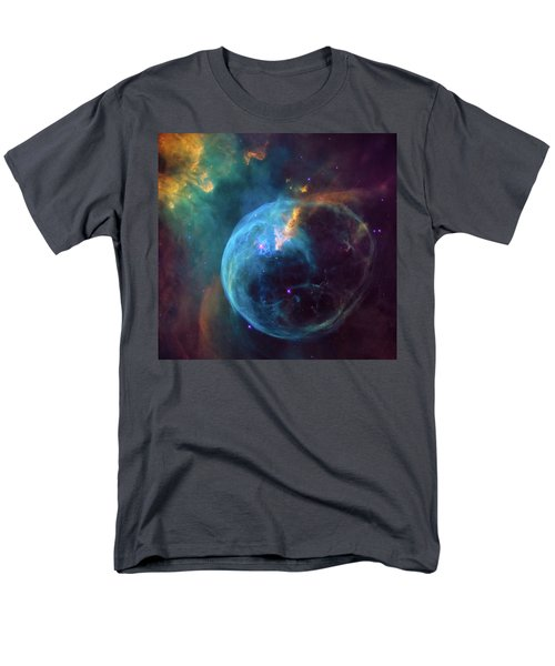 Men's T-Shirt  (Regular Fit) featuring the photograph Bubble Nebula by Marco Oliveira