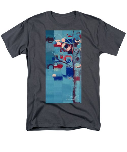 Men's T-Shirt  (Regular Fit) featuring the painting Bubble Tree - 85e-j4 by Variance Collections
