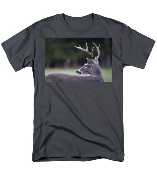 Men's T-Shirt  (Regular Fit) featuring the photograph Buck by Tyson and Kathy Smith