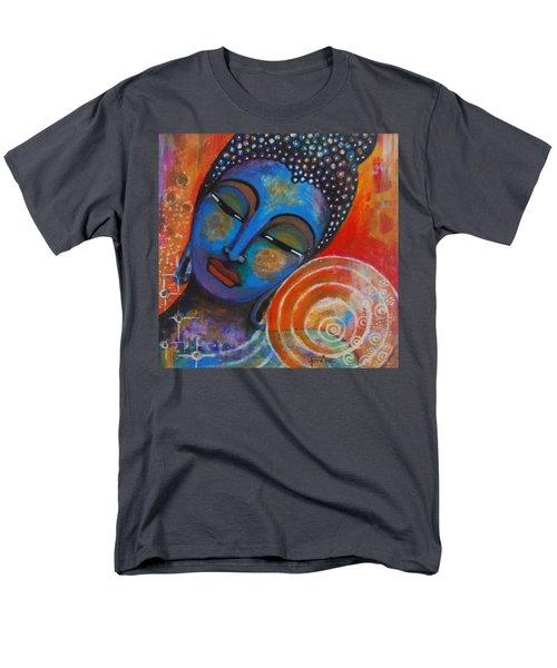 Men's T-Shirt  (Regular Fit) featuring the painting Buddha by Prerna Poojara